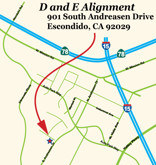 D and E Alignment map